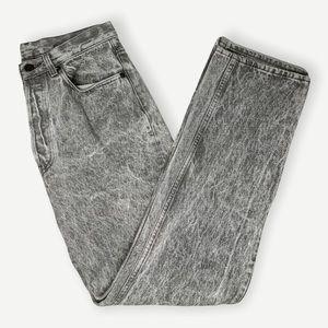 Vintage Levi's 501s gray acid wash straight leg 32